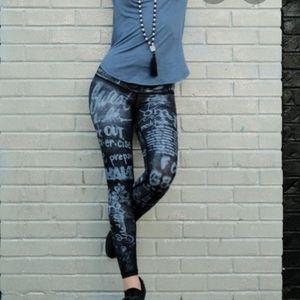 Niyama Sol Chalk Endless Leggings & matching Bra